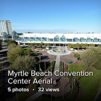 Myrtle Beach Convention Center Aerial 2011