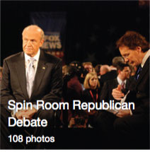 Spin Room Republican Debate