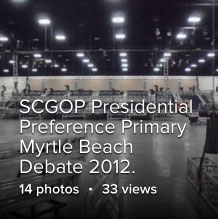 SCGOP Presidential Preference Primary Republican Debate