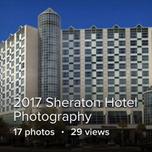 Sheraton Hotel Photography