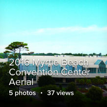 Myrtle Beach Convention Center Aerial