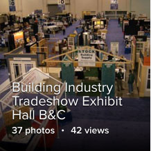 Building Industry Tradeshow Exhibit Hall