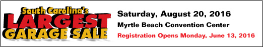 South Carolina's Largest Garage Sale Myrtle Beach