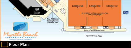 Myrtle Beach Convention Center Floor Plan