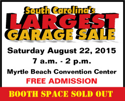 South Carolina's Largest Garage Sale Myrtle Beach Convention Center